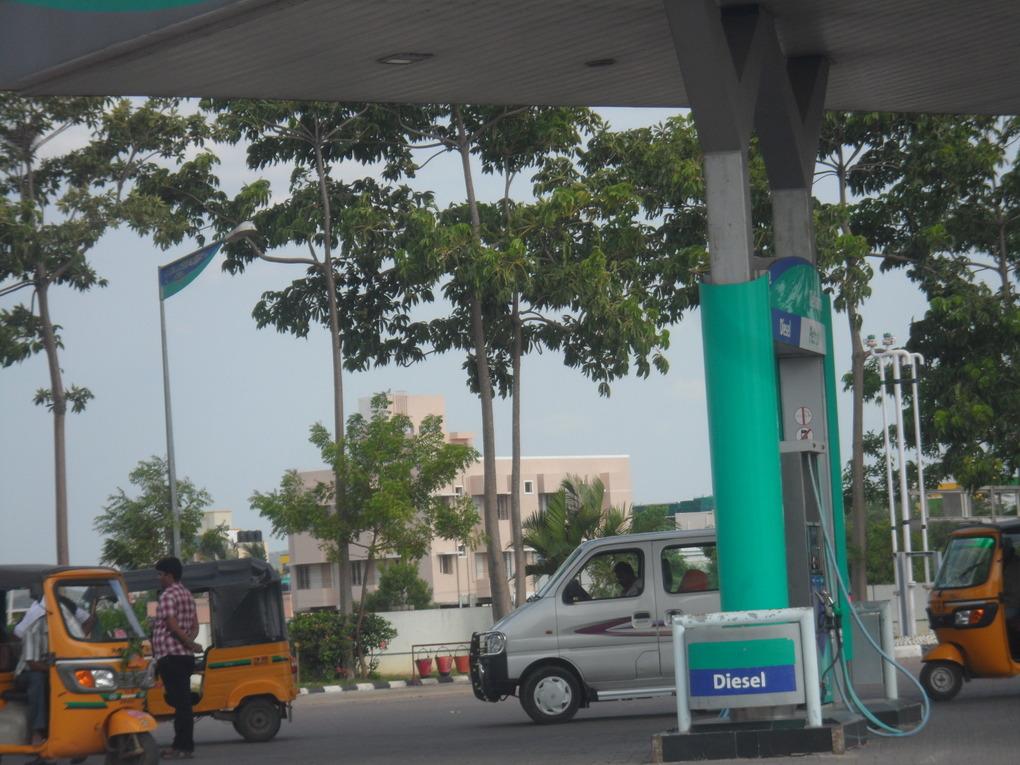 Rear Side Of Reliance PetrolBunk @SPKoil